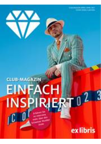 Prospectus Ex Libris Bern - Bahnhof : Ex Libris Club-Magazin März/April 2021