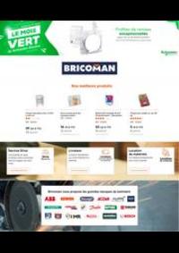 Prospectus Bricoman VILLEPARISIS : Le mois Vert