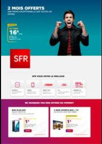 Prospectus SFR Paris 3e Arrondissement : Offres SFR