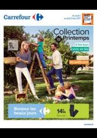 Prospectus Carrefour SAINT BRICE SOUS FORET : Collection TEX Printemps