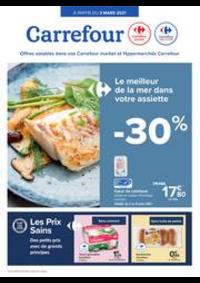 Prospectus Carrefour Market ANDENNE : folder Carrefour Market