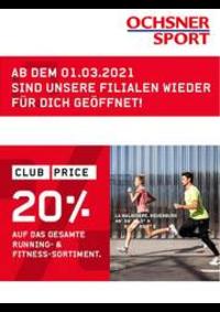 Prospectus Ochsner Sport Bern : Ochsner sport