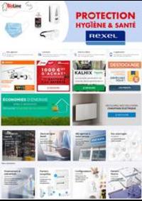 Prospectus Rexel SARTROUVILLE : Protection Hygiène & Santé