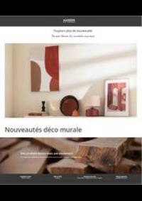 Prospectus Maisons du Monde Bruxelles : Nouveautés déco murale