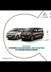 Prospectus Citroen AUBERVILLIERS : Citroën Spacetourer