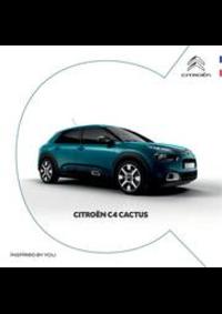 Prospectus Citroen AUBERVILLIERS : Citroën C4 Cactus