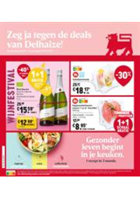 Prospectus AD Delhaize Hoeilaart : Folder Delhaize