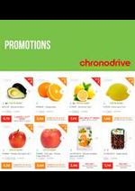 Prospectus Chronodrive : Promotions
