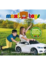 Prospectus Maxi Toys : Catalogue Printemps 2021