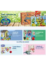 Prospectus La grande Récré : Pour s'amuser en famille !