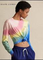 Prospectus RALPH LAUREN : Collection T-Shirts / Femme