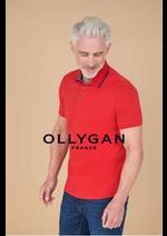 Prospectus Olly Gan : Haut homme