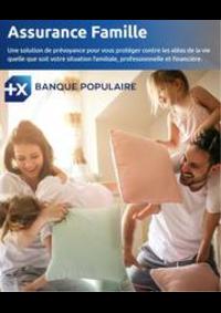 Services et infos pratiques Banque Populaire MORTEAU : Assurance Famille