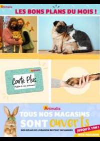 Prospectus Animalis Bondy : Les bons plans du mois