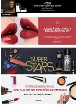Prospectus MAC Cosmetics : -20% sur vos essentiels soins