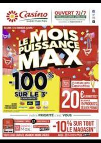 Prospectus Supermarchés Casino MORTEAU : Le mois puissance MAX