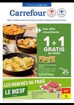 Prospectus Carrefour Market : Les marchés du frais : Boeuf