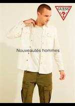 Catalogues et collections Guess : Nouveautés hommes