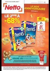 Promos et remises Netto Morteau : Catalogue Netto