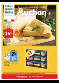 Prospectus Auchan PUTEAUX : L'Italie s'invite à votre table !
