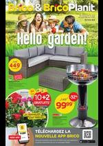Prospectus Brico : Hello Garden!