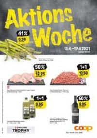 Prospectus Coop Supermarché Bern - Schlossstrasse : Aktions Woche