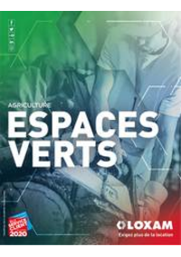 Prospectus Loxam MARCQ-EN-BAROEUL : Espaces verts et agriculture