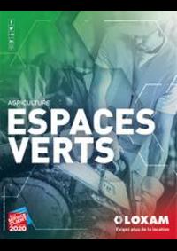 Prospectus Loxam SAINT-MAXIMIN : Espaces verts et agriculture