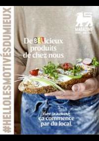 Prospectus AD Delhaize Bruxelles : Folder Delhaize