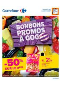 Prospectus Carrefour CHARENTON LE PONT : Bonbons & Promos à Gogo