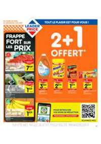 Promos et remises Leader Price Saint-Doulchard : 2+1 OFFERT