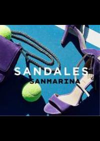 Prospectus San Marina Paris GALERIE DIDEROT : Sandales