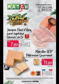 Prospectus Supermarchés Match Creil : C'est tous les jours le marché