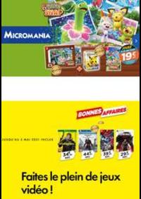 Prospectus Micromania Parinor : Faites le plein de jeux vidéo !