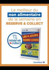 Prospectus Carrefour CHARENTON LE PONT : Promos Choc - Reserve & Collect