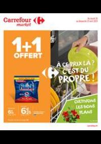 Prospectus Carrefour Market Vaires Sur Marne : À ce prix là ? C'est du propre !