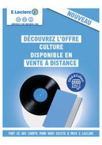 Prospectus E.Leclerc MASSY : Catalogue E.Leclerc