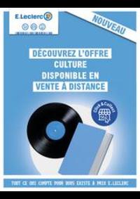Prospectus E.Leclerc PANTIN : Catalogue E.Leclerc