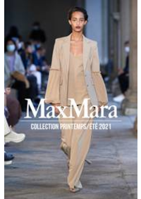 Prospectus Max Mara Paris 7 : Collection Printemps/Été 2021