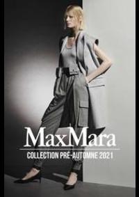 Prospectus Max Mara Paris 8 : Collection Pré-Automne 2021