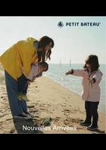 Prospectus Petit Bateau : Nouvelles Arrivées