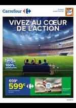 Prospectus Carrefour : VIVEZ AU COEUR DE L'ACTION