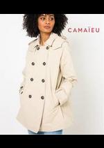 Prospectus Camaieu : Manteaux, Trench