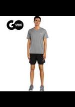 Prospectus Go Sport : Homme - Running