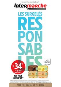 Prospectus Intermarché Super Lugrin : EVEN SURGELES MAI