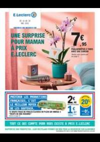Prospectus E.Leclerc PANTIN : UNE SURPRISE POUR MAMAN À PRIX E.LECLERC