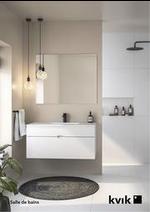 Prospectus Kvik : 2021 Catalogue Salle de bains
