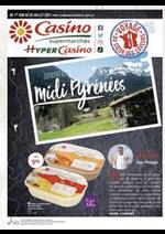 Prospectus Supermarchés Casino : Savoureuses Midi Pyrénées