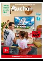 Prospectus Auchan : Du bio partout, pour tous !