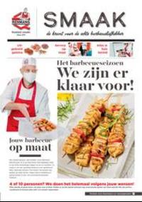 Prospectus Boucherie Renmans DENDERLEEUW : Smaak de krant voor de echte barbecueliefhebber